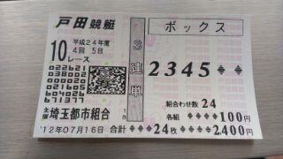 レース 予想 ボート 戸田
